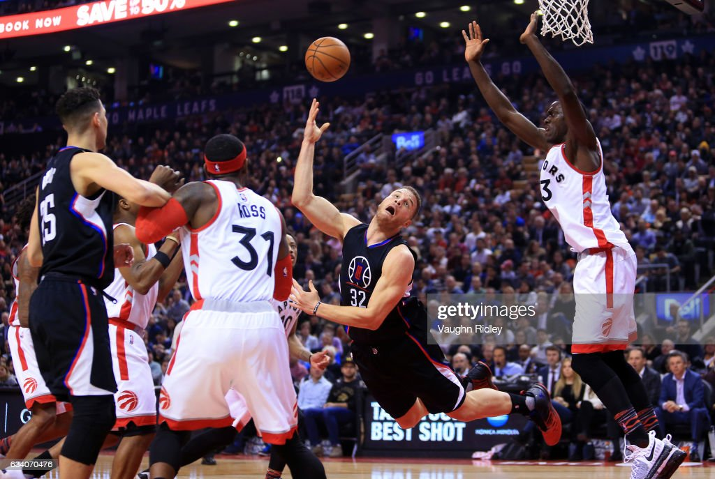 Los Angeles Clippers v Toronto Raptors