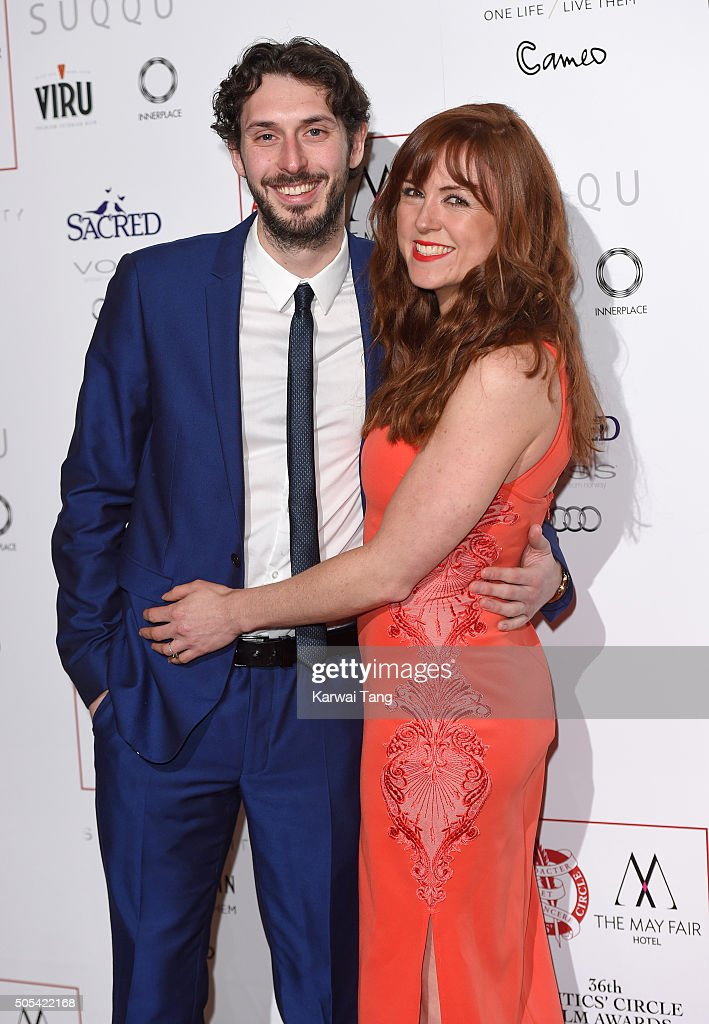 <a gi-track='captionPersonalityLinkClicked' href=/galleries/search?phrase=Blake+Harrison&family=editorial&specificpeople=5800049 ng-click='$event.stopPropagation()'>Blake Harrison</a> and Kerry Ann Lynch attend The London Critics' Circle Film Awards at The Mayfair Hotel on January 17, 2016 in London, England.