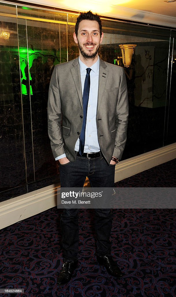 Blake Harrison arrives at the Jameson Empire Awards 2013 at The Grosvenor House Hotel on March 24, 2013 in London, England.