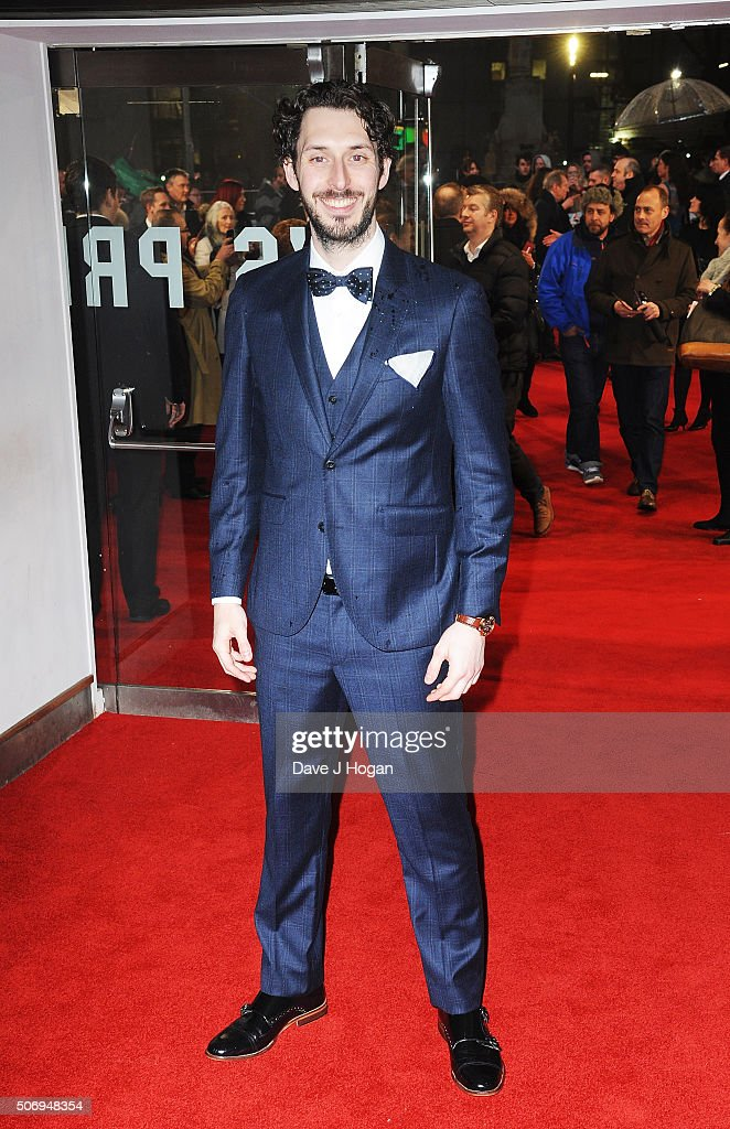 <a gi-track='captionPersonalityLinkClicked' href=/galleries/search?phrase=Blake+Harrison&family=editorial&specificpeople=5800049 ng-click='$event.stopPropagation()'>Blake Harrison</a> attends 'Dad's Army' World Premiere on January 26, 2016 in London, United Kingdom.