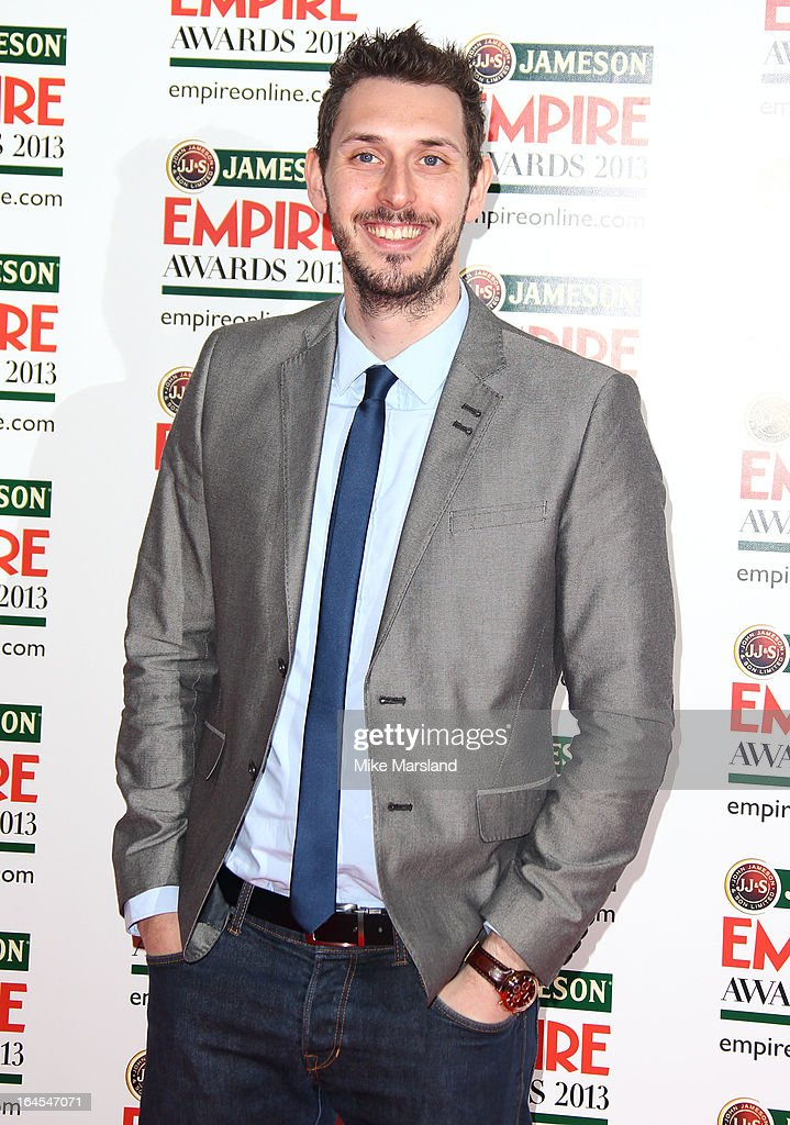 Blake Harrison attends the 18th Jameson Empire Film Awards at Grosvenor House, on March 24, 2013 in London, England.