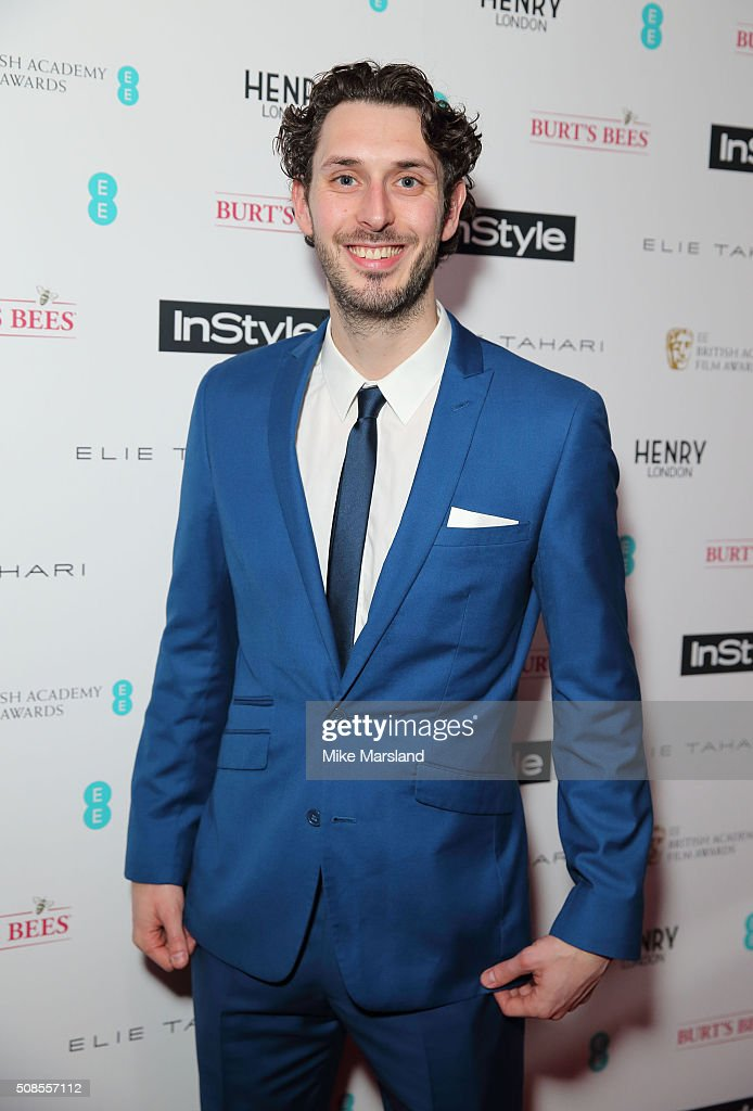 <a gi-track='captionPersonalityLinkClicked' href=/galleries/search?phrase=Blake+Harrison&family=editorial&specificpeople=5800049 ng-click='$event.stopPropagation()'>Blake Harrison</a> attends the InStyle EE Rising Star Pre-BAFTA Party at 100 Wardour Street on February 4, 2016 in London, England.