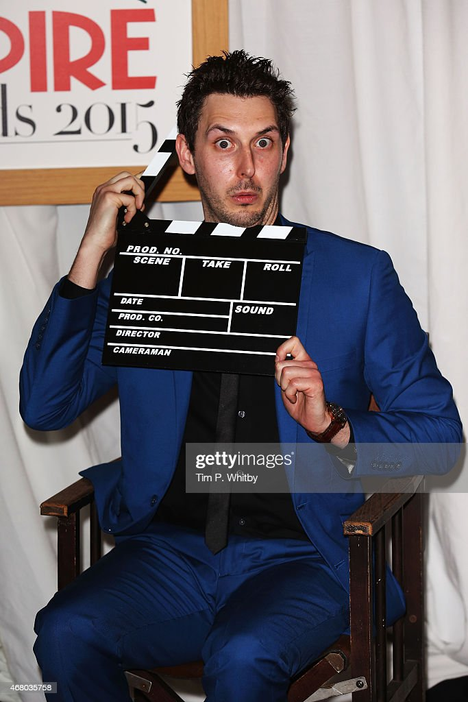 <a gi-track='captionPersonalityLinkClicked' href=/galleries/search?phrase=Blake+Harrison&family=editorial&specificpeople=5800049 ng-click='$event.stopPropagation()'>Blake Harrison</a> attends the Jameson Empire Awards 2015 at the Grosvenor House Hotel on March 29, 2015 in London, England.