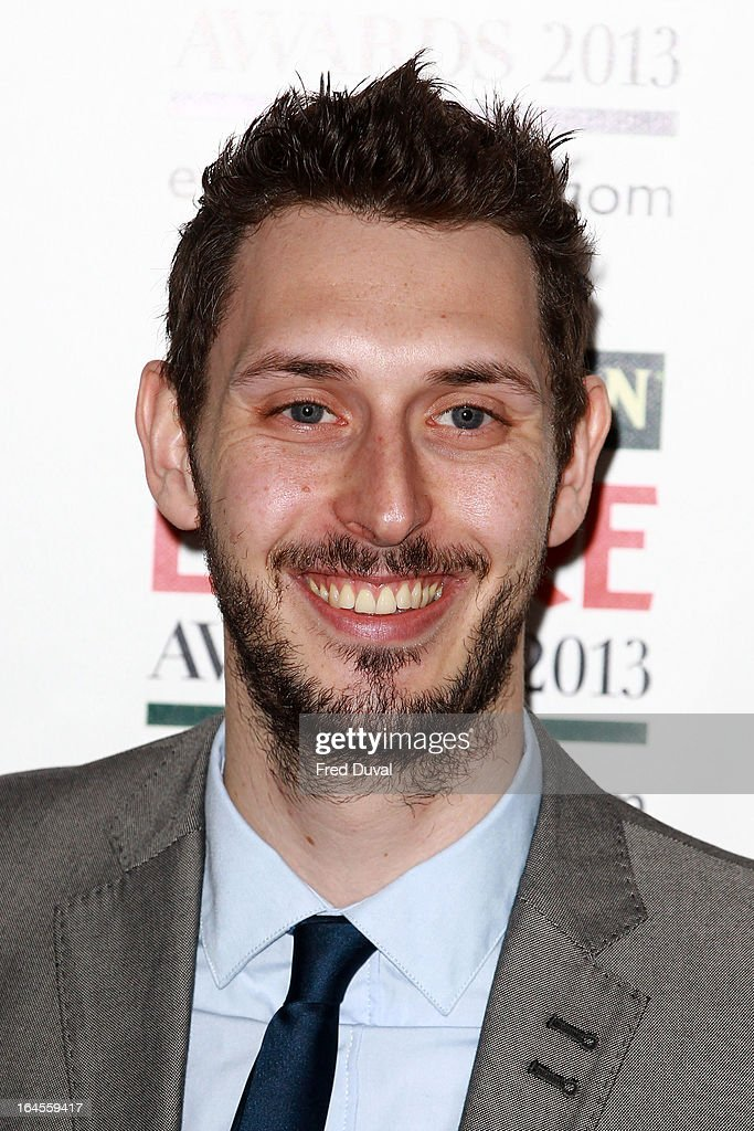 <a gi-track='captionPersonalityLinkClicked' href=/galleries/search?phrase=Blake+Harrison&family=editorial&specificpeople=5800049 ng-click='$event.stopPropagation()'>Blake Harrison</a> attends the Jameson Empire Film Awards at The Grosvenor House Hotel on March 24, 2013 in London, England.