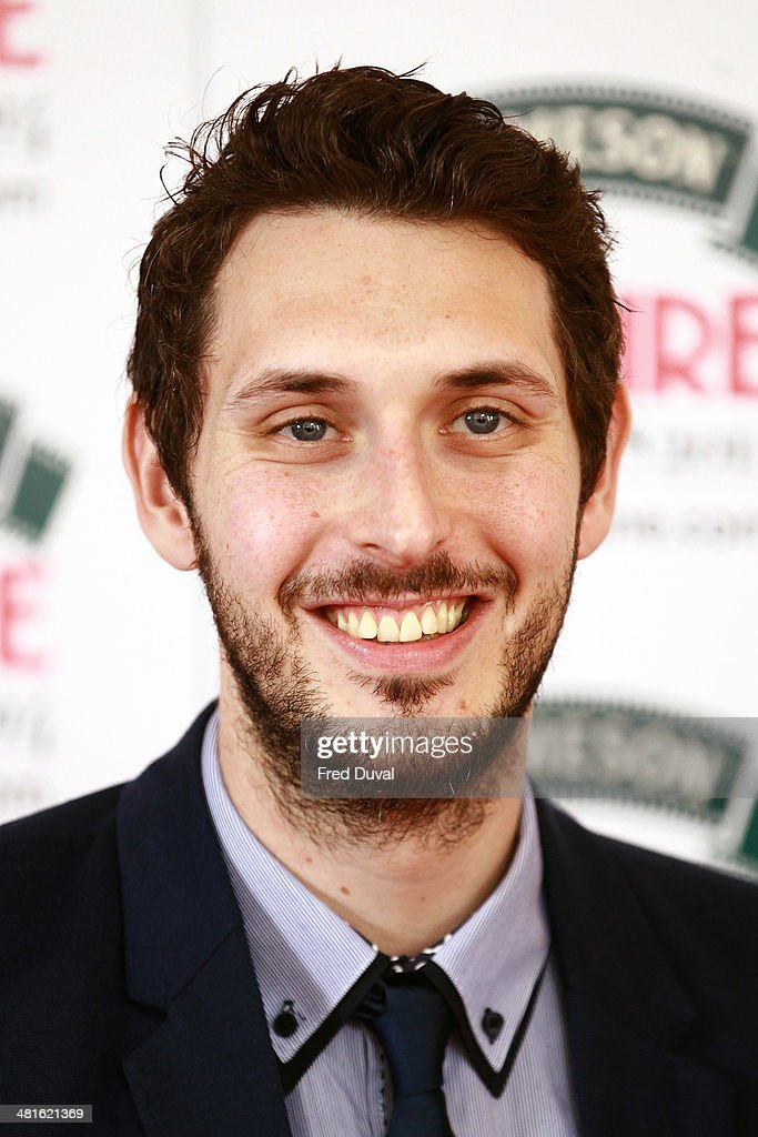 <a gi-track='captionPersonalityLinkClicked' href=/galleries/search?phrase=Blake+Harrison&family=editorial&specificpeople=5800049 ng-click='$event.stopPropagation()'>Blake Harrison</a> attends the Jameson Empire Film Awards at The Grosvenor House Hotel on March 30, 2014 in London, England.