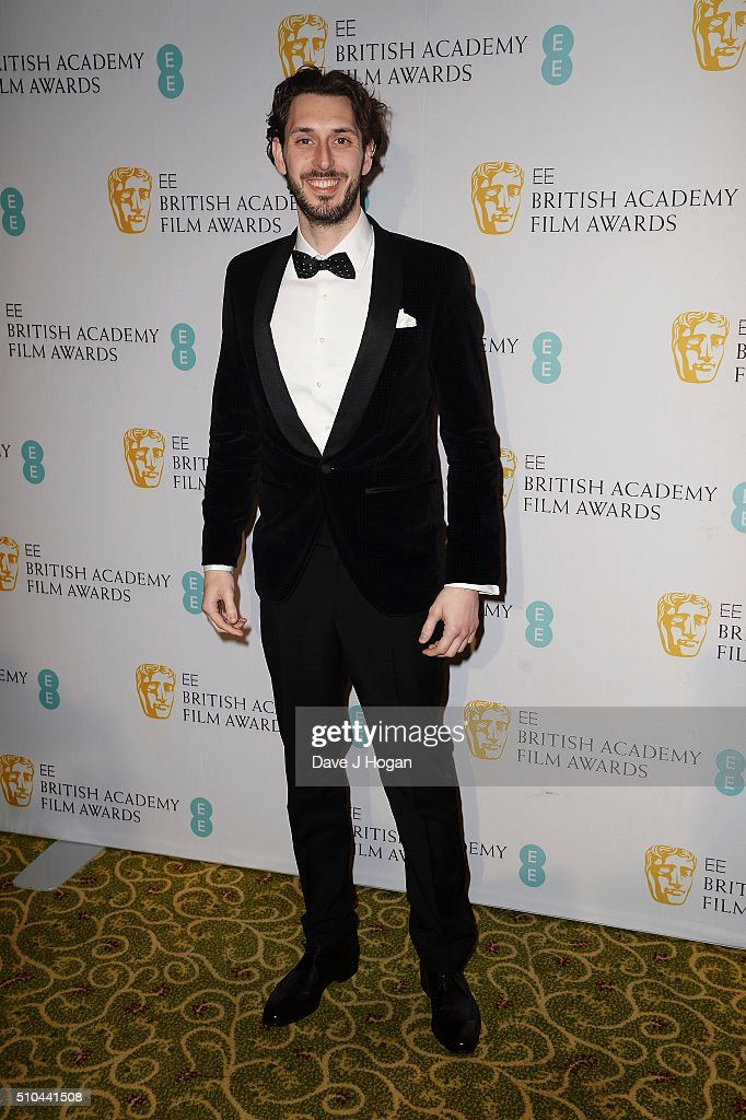 <a gi-track='captionPersonalityLinkClicked' href=/galleries/search?phrase=Blake+Harrison&family=editorial&specificpeople=5800049 ng-click='$event.stopPropagation()'>Blake Harrison</a> attends the official After Party Dinner for the EE British Academy Film Awards at The Grosvenor House Hotel on February 14, 2016 in London, England.