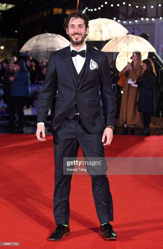 <a gi-track='captionPersonalityLinkClicked' href=/galleries/search?phrase=Blake+Harrison&family=editorial&specificpeople=5800049 ng-click='$event.stopPropagation()'>Blake Harrison</a> attends the World Premiere of 'Dad's Army' at Odeon Leicester Square on January 26, 2016 in London, United Kingdom.