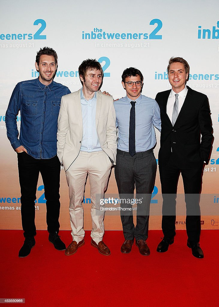 The Inbetweeners Cast Return To Australia | Getty Images