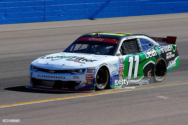 Blake Koch driver of the LeafFilter Gutter Protection Chevrolet practices for the NASCAR XFINITY Series Ticket Galaxy 200 at Phoenix International...