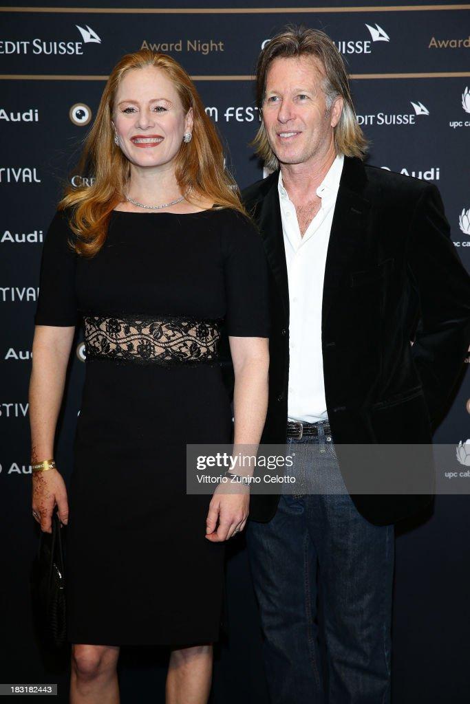 Blake Lindsley and Stephen Nemeth attend the Zurich Film Festival 2013 award night on October 5, 2013 in Zurich, Switzerland.