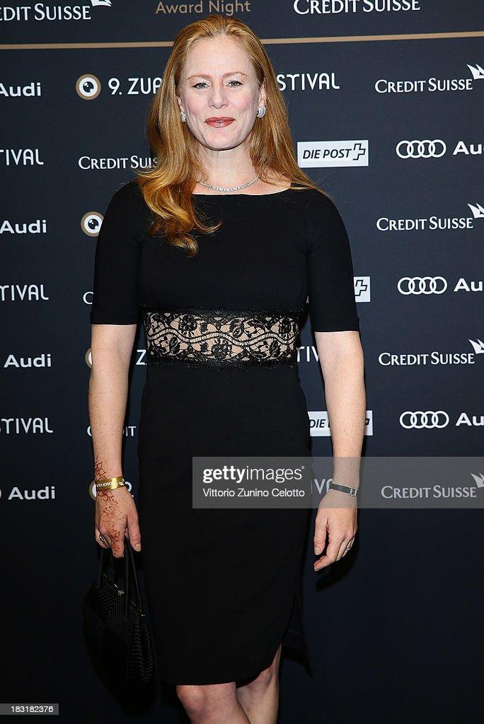 Blake Lindsley attends the Zurich Film Festival 2013 award night on October 5, 2013 in Zurich, Switzerland.