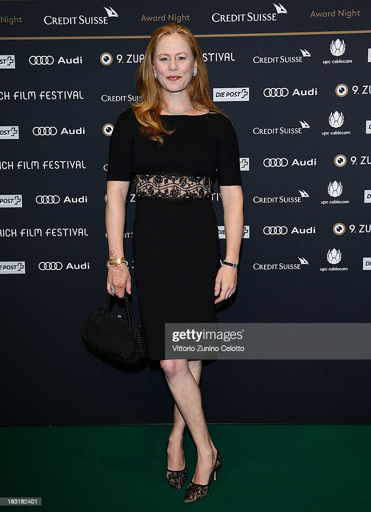 Blake Lindsley attends the Zurich Film Festival 2013 award night on October 5, 2013 in Zurich, Switzerland.