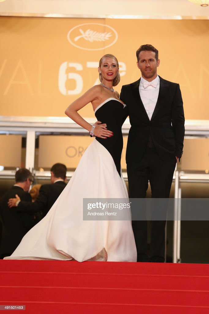 <a gi-track='captionPersonalityLinkClicked' href=/galleries/search?phrase=Blake+Lively&family=editorial&specificpeople=221673 ng-click='$event.stopPropagation()'>Blake Lively</a> and <a gi-track='captionPersonalityLinkClicked' href=/galleries/search?phrase=Ryan+Reynolds&family=editorial&specificpeople=204149 ng-click='$event.stopPropagation()'>Ryan Reynolds</a> attend the 'Captives' premiere during the 67th Annual Cannes Film Festival on May 16, 2014 in Cannes, France.