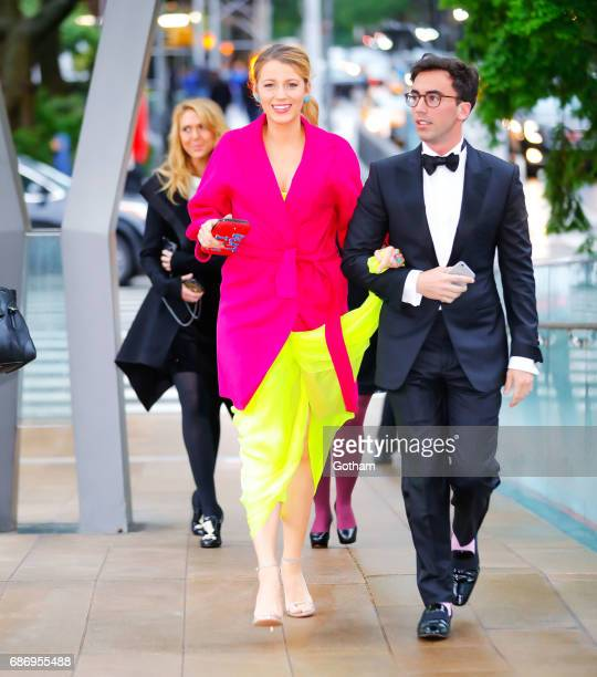 Blake Lively arrives at opening night of 2017 American Ballet Theater at Lincoln Center in New York