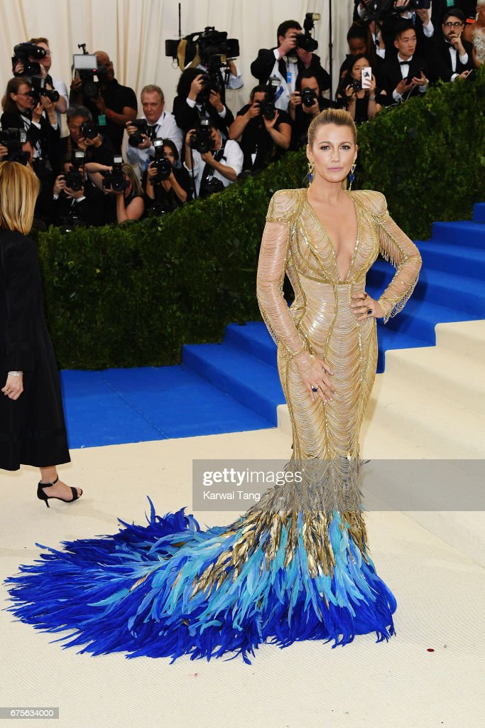 Blake Lively attends 'Rei Kawakubo/Comme des Garcons: Art Of The In-Between' Costume Institute Gala at Metropolitan Museum of Art on May 1, 2017 in New York City.