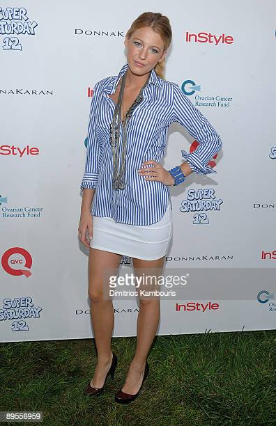 Blake Lively attends Super Saturday 12 to Benefit Ovarian Cancer Research Fund hosted by InStyle Magazine at Nova's Ark Project on August 1 2009 in...