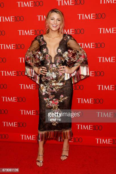Blake Lively attends the 2017 Time 100 Gala at Jazz at Lincoln Center on April 25 2017 in New York City