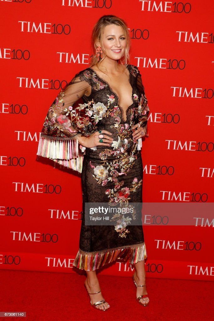 Blake Lively attends the 2017 Time 100 Gala at Jazz at Lincoln Center on April 25, 2017 in New York City.