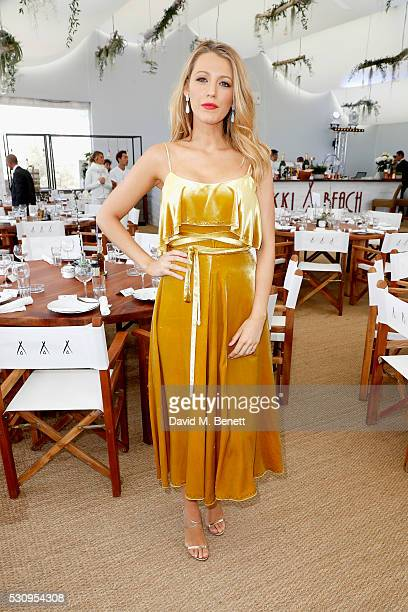 Blake Lively attends the Amazon Studios 'Cafe Society' press luncheon during the 69th annual Cannes film festival on May 12 2016 in Cannes France