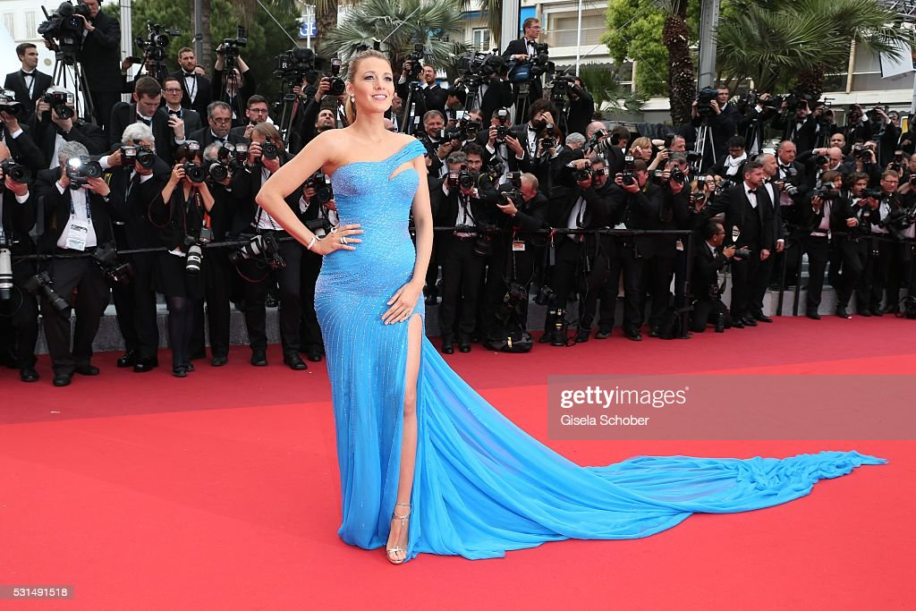 Blake Lively attends 'The BFG (Le Bon Gros Geant - Le BGG)' premiere during the 69th annual Cannes Film Festival at the Palais des Festivals on May 14, 2016 in Cannes, France.