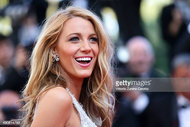 Blake Lively attends the 'Mr Turner' premiere during the 67th Annual Cannes Film Festival on May 15 2014 in Cannes France