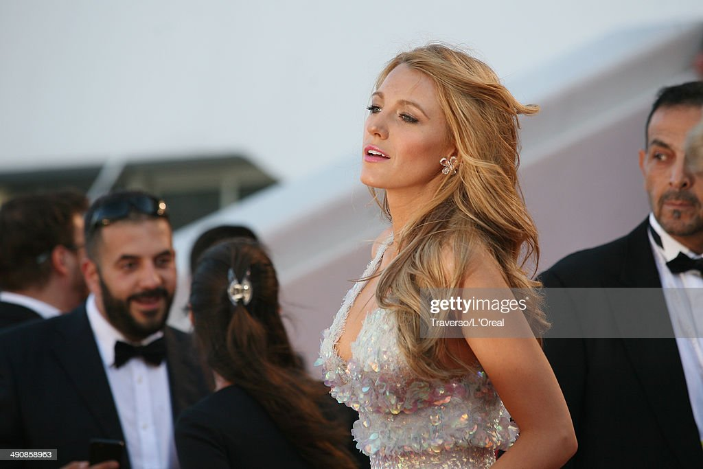 <a gi-track='captionPersonalityLinkClicked' href=/galleries/search?phrase=Blake+Lively&family=editorial&specificpeople=221673 ng-click='$event.stopPropagation()'>Blake Lively</a> attends the 'Mr Turner' premiere during the 67th Annual Cannes Film Festival on May 15, 2014 in Cannes, France.