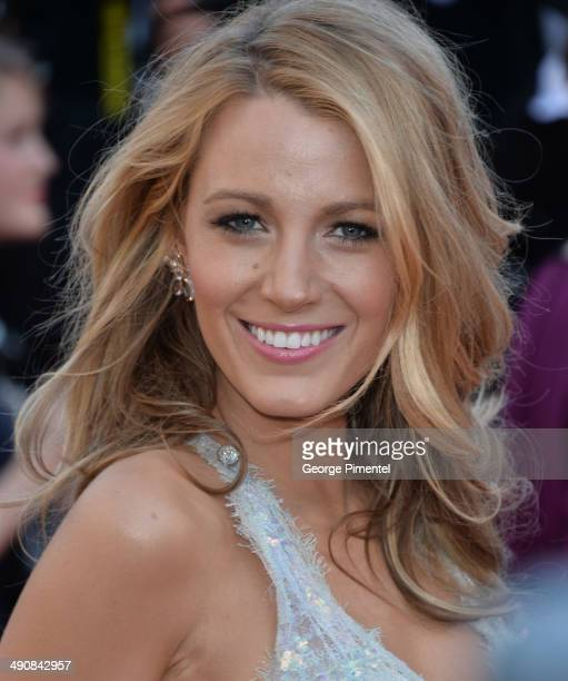 Blake Lively attends the 'MrTurner' Premiere at the 67th Annual Cannes Film Festival on May 15 2014 in Cannes France