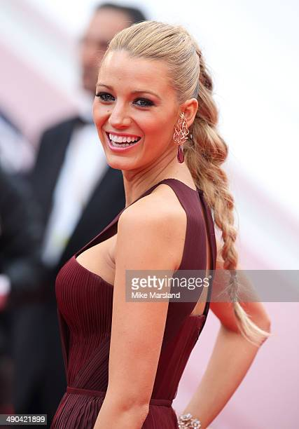 Blake Lively attends the opening ceremony and 'Grace of Monaco' premiere at the 67th Annual Cannes Film Festival on May 14 2014 in Cannes France