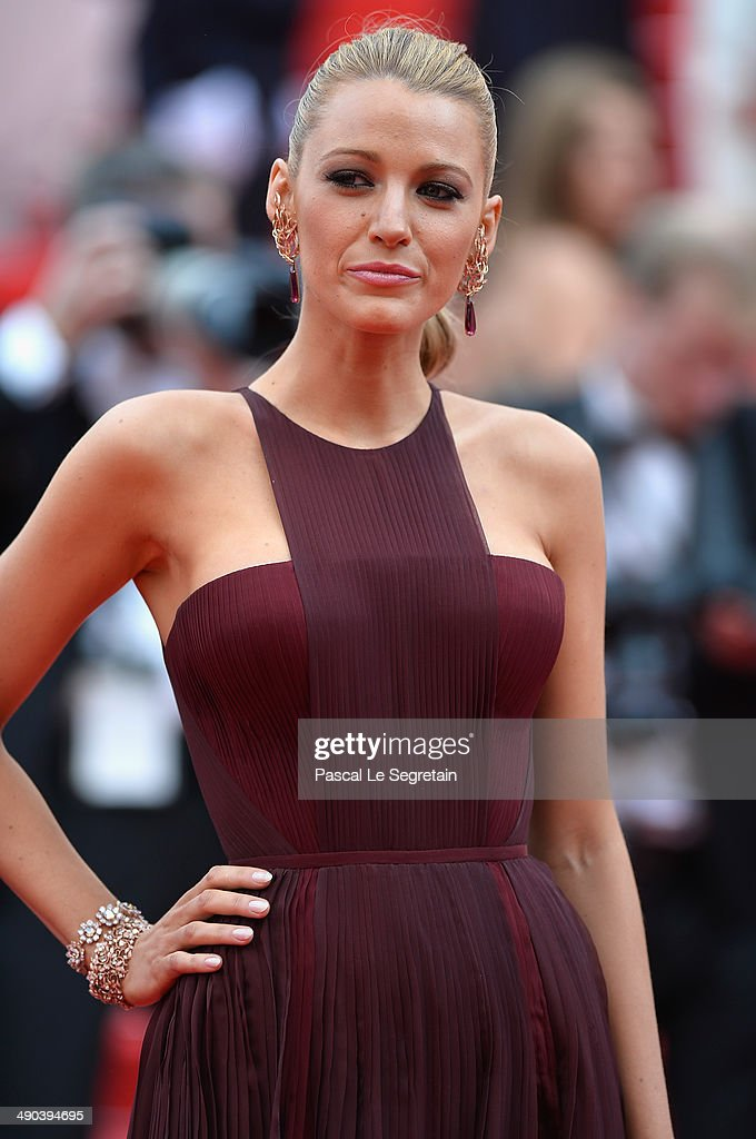 Blake Lively attends the Opening ceremony and the 'Grace of Monaco' Premiere during the 67th Annual Cannes Film Festival on May 14, 2014 in Cannes, France.