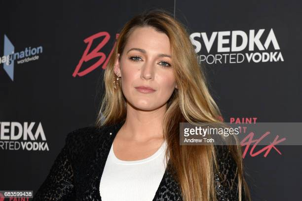 Blake Lively attends the 'Paint It Black' New York premiere at The Museum of Modern Art on May 15 2017 in New York City
