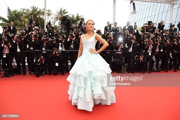 Blake Lively attends the screening of 'Slack Bay ' at the annual 69th Cannes Film Festival at Palais des Festivals on May 13 2016 in Cannes France