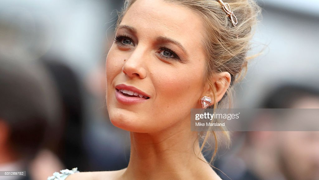 Blake Lively attends the screening of 'Slack Bay (Ma Loute)' at the annual 69th Cannes Film Festival at Palais des Festivals on May 13, 2016 in Cannes, France