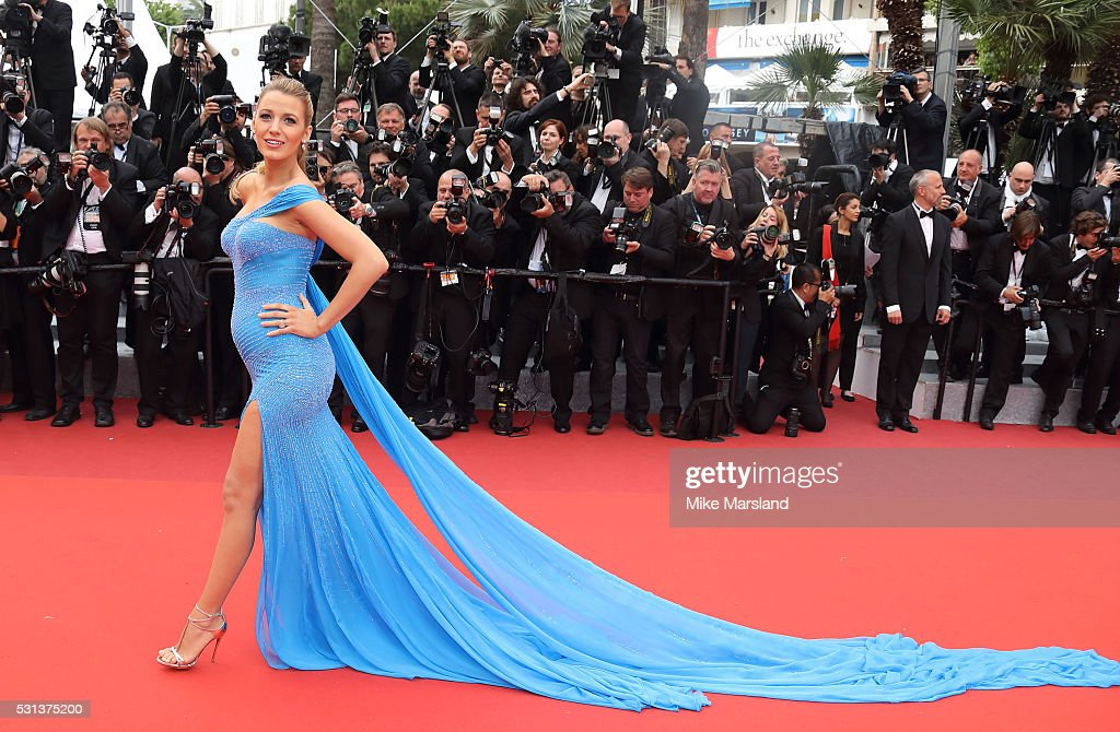 Blake Lively attends the 'The BFG (Le Bon Gros Geant - Le BGG)' premiere during the 69th annual Cannes Film Festival at the Palais des Festivals on May 14, 2016 in Cannes, France.