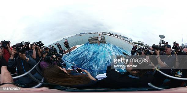 Blake Lively attends the 'The Shallows' photocall during the 69th annual Cannes Film Festival at the Palais des Festivals on May 13 2016 in Cannes...