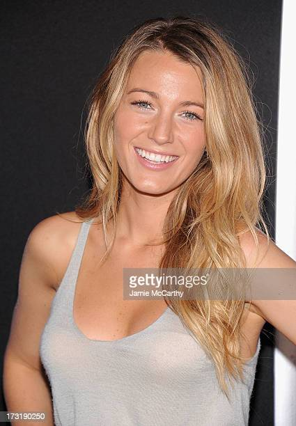 Blake Lively attends the 'Turbo' New York Premiere at AMC Loews Lincoln Square on July 9 2013 in New York City