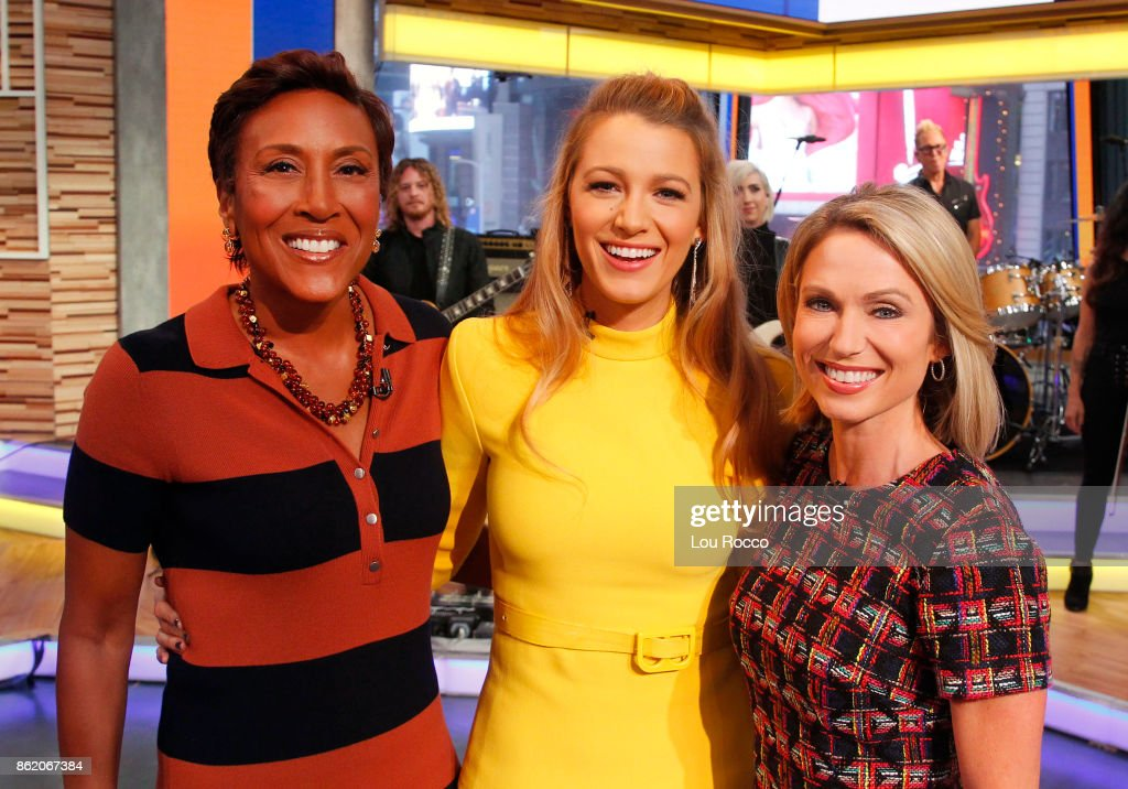 AMERICA - Blake Lively is a guest on 'Good Morning America,' Monday, October 16, 2017, airing on the ABC Television Network. ROBIN