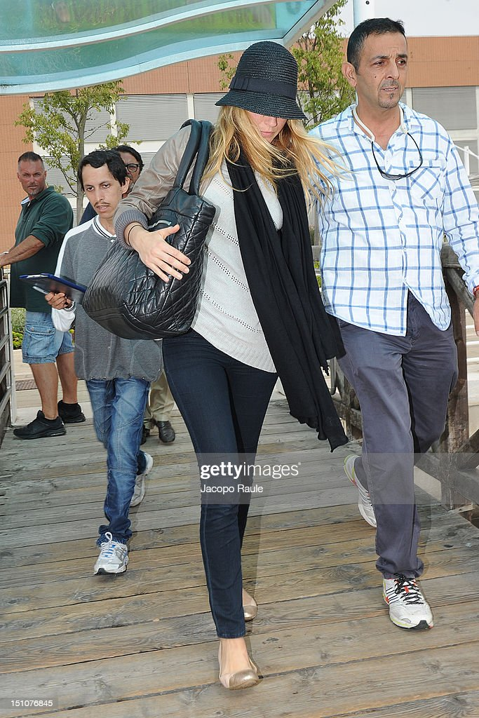Blake Lively is seen during The 69th Venice Film Festival on August 31, 2012 in Venice, Italy.