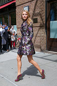 Blake Lively is seen leaving her Downtown hotel on May 7 2014 in New York City