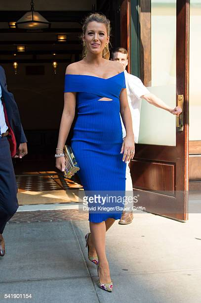 Blake Lively is seen on June 20 2016 in New York City