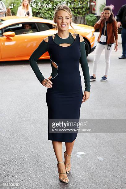 Blake Lively seen at Grand Hyatt Cannes Hotel Martinez during the 69th Annual Cannes Film Festival on May 13 2016 in Cannes France