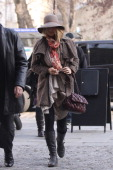 Blake Lively sighted in Saint Germain des Pres on March 5 2011 in Paris France