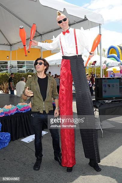 Blake Michael attends A Window Between Worlds presents Art in the Afternoon at Venice Skills Center on May 7 2016 in Venice California