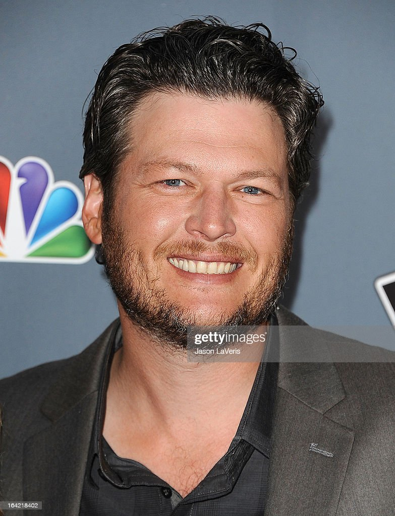 <a gi-track='captionPersonalityLinkClicked' href=/galleries/search?phrase=Blake+Shelton&family=editorial&specificpeople=2352026 ng-click='$event.stopPropagation()'>Blake Shelton</a> attends NBC's 'The Voice' season 4 premiere at TCL Chinese Theatre on March 20, 2013 in Hollywood, California.