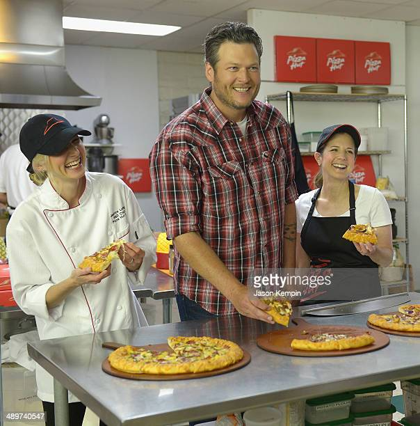 Blake Shelton sampled and played a key role in inspiring the new menu items from Pizza Hut So much so the Smokehouse BBQ recipe is named in his honor...