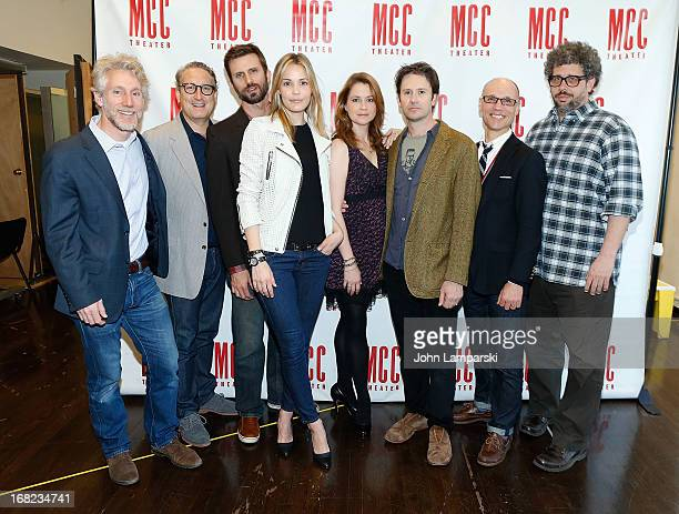 Blake West Robert LuPone Fred Weller Leslie Bibb Jenna Fischer Josh Hamilton Will Cantler and Playwright/Director Neil LaBute attend the 'Reasons To...
