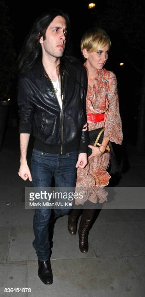 Blake Wood and Kimberly Stewart party at Bungalow 8 on September 16 2008 in London England