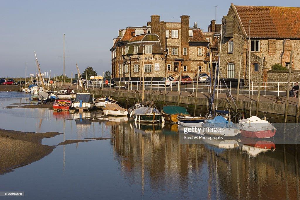 Blakeney Harbourside : Stock Photo
