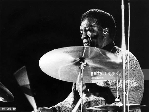 Blakey Art *Jazzmusiker Schlagzeuger USA Auftritt waehrend der Berliner Jazztage 1972