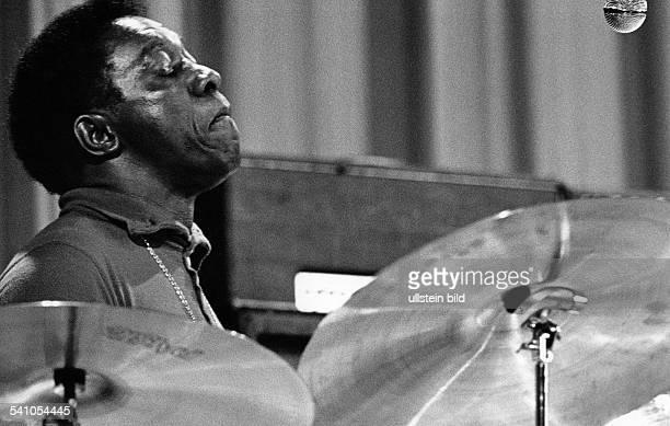 Blakey Art *Jazzmusiker Schlagzeuger USA waehrend der Berliner Jazztage 1973