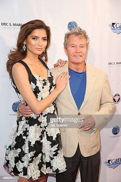 Blanca Blanco and John Savage arrive at Coalition for AtRiskRestoring Youth CARRY On Gala at InterContinental Hotel on November 6 2015 in Century...